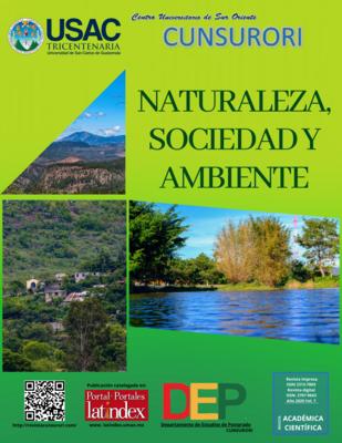 Ver Vol. 7 Núm. 1 (2020): Revista Naturaleza, Sociedad y Ambiente